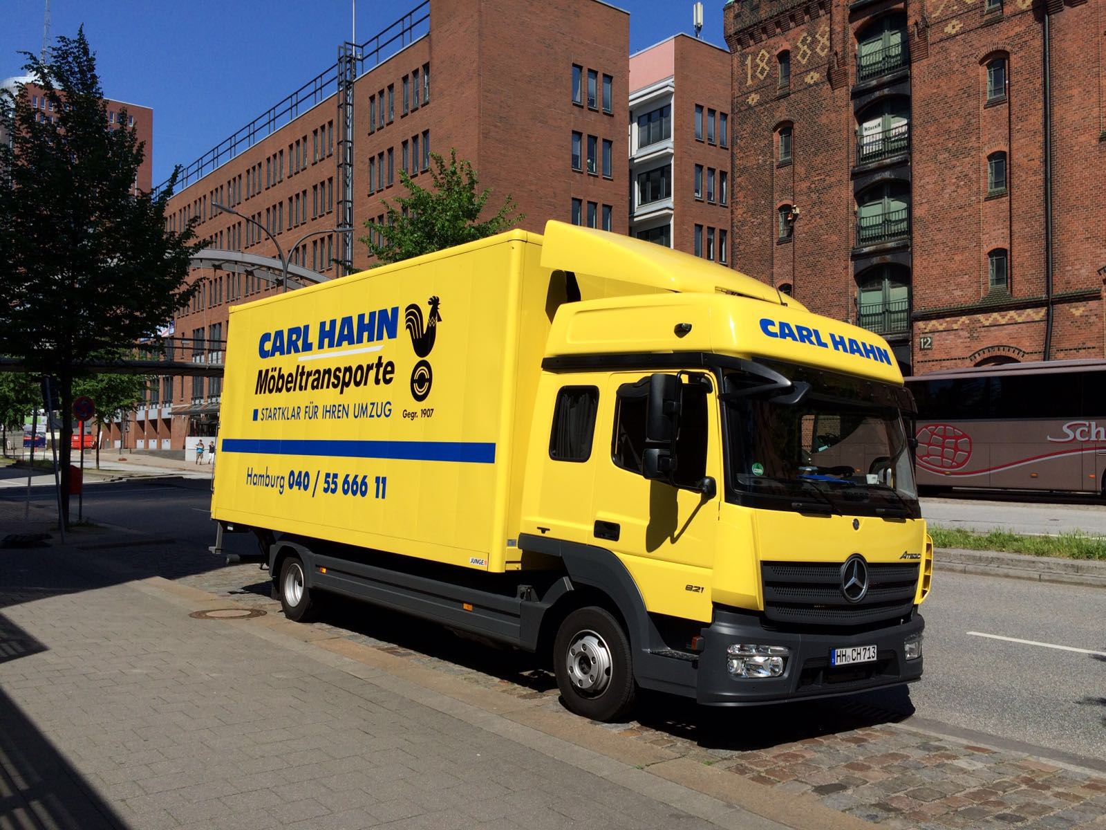 Umzug Hamburg Umzugsunternehmen Carl Hahn